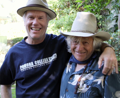 Video: Loudon Wainwright & Ramblin Jack Elliott in the studio