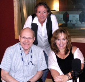 Gretchen Peters with Trevor Dann and Barry Walsh