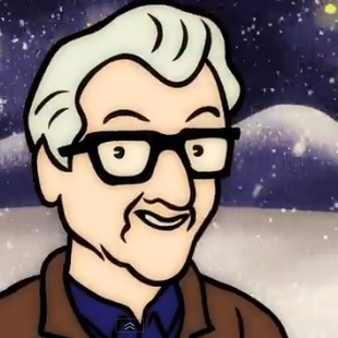 Watch: Nick Lowe – Christmas At The Airport