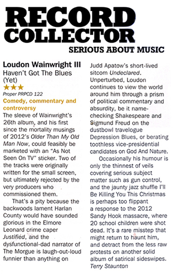 Loudon Wainwright III - Record Collector review
