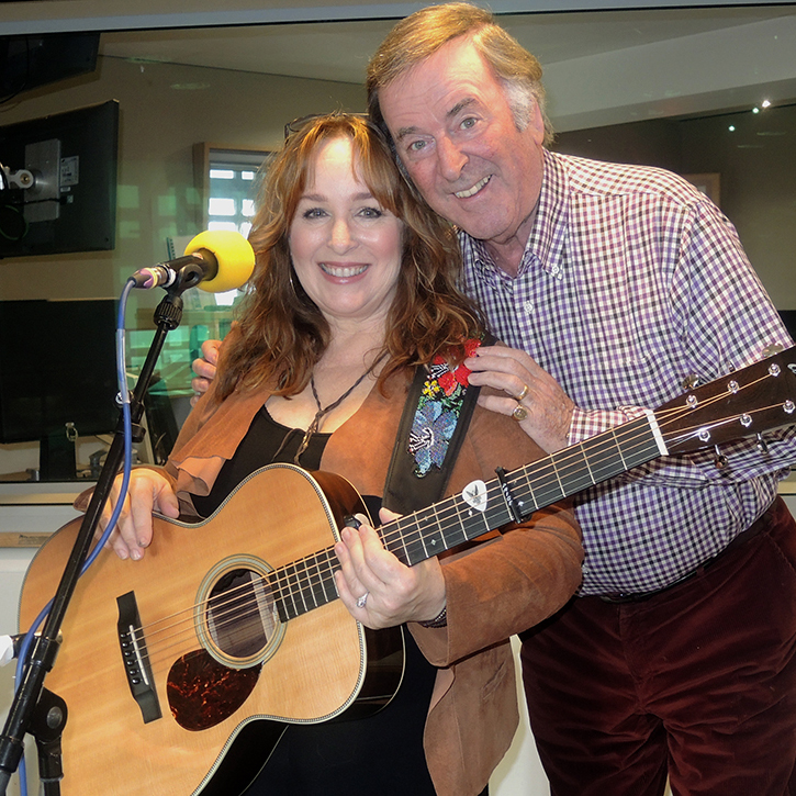 Gretchen Peters on Weekend Wogan