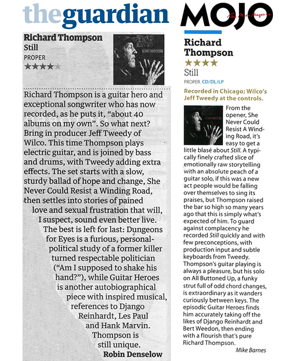 Still - Guardian and MOJO Reviews