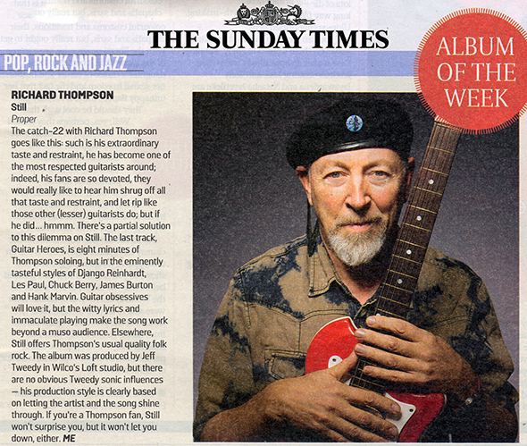 Still - Sunday Times Review