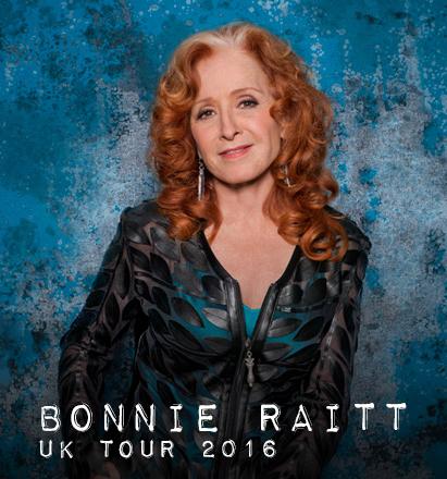 Bonnie Raitt UK Tour 2016 – Tickets on Sale Now