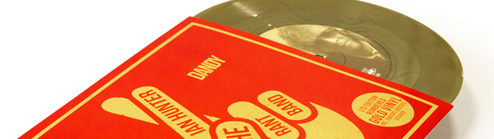 New Release: Ian Hunter – Dandy (7″ Gold Vinyl Record Store Day Exclusive)