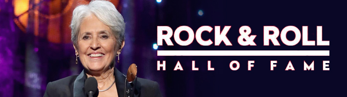 Joan Baez inducted into the Rock & Roll Hall of Fame