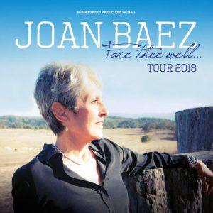 Joan Baez Fare thee well tour 2018