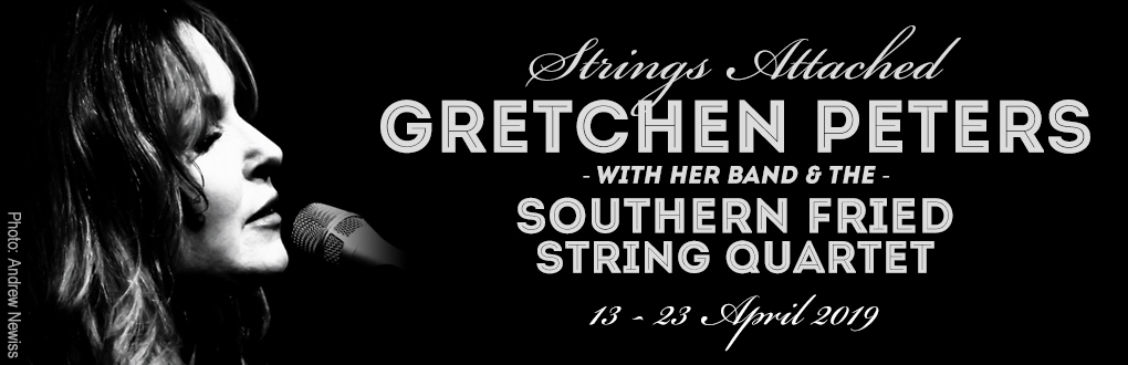 Gretchen Peters - Strings Attached Tour