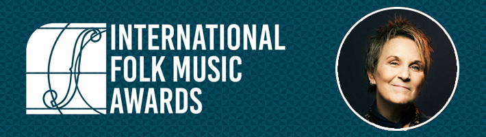 Mary Gauthier wins the 2018 Album of the Year at the International Folk Music Awards