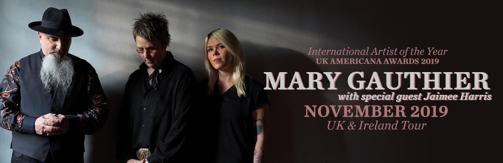 Mary Gauthier - November 2019 tour