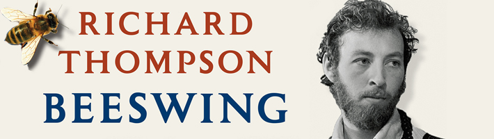 Richard Thompson announces new memoir Beeswing