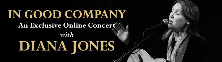 "Diana Jones announces ""In Good Company"" Zoom concert"