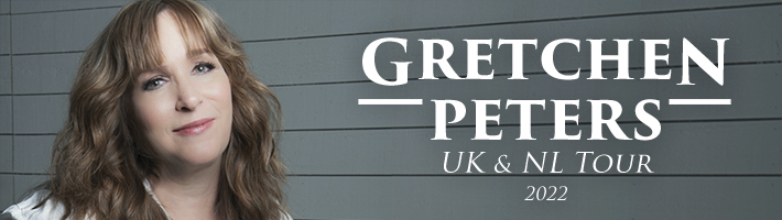 Gretchen Peters to tour the UK and Netherlands in 2022
